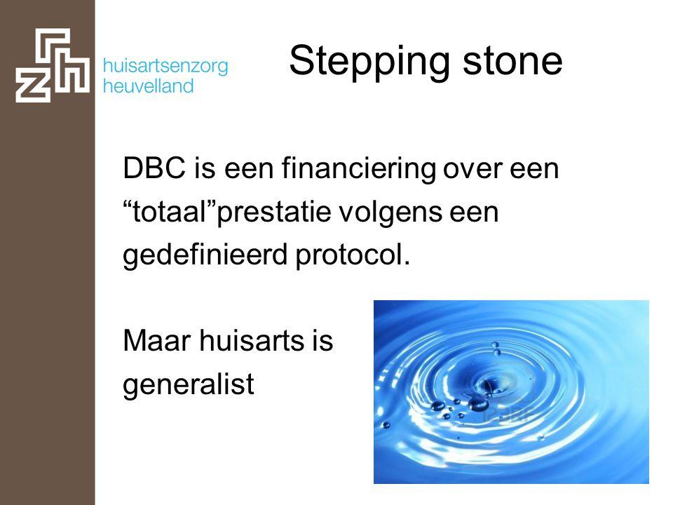 """DBC is een financiering over een """"totaal""""prestatie volgens een gedefinieerd protocol. Maar huisarts is generalist"""