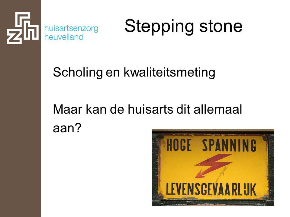 Stepping stone Facilitering Kan de collectiveit voor meer gebruikt worden?