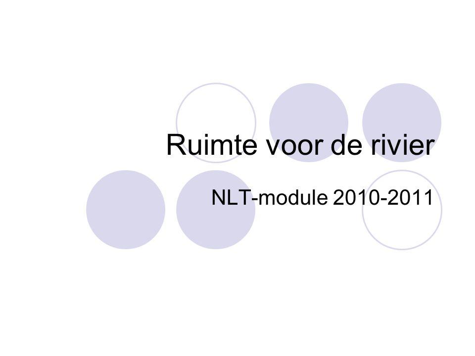 Ruimte voor de rivier NLT-module 2010-2011