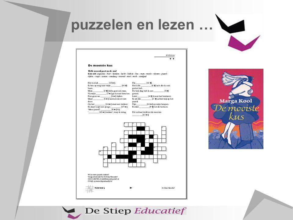 puzzelen en lezen … boek