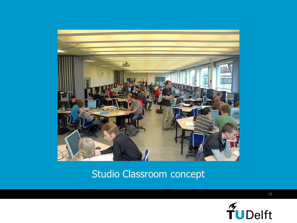 18 Studio Classroom concept