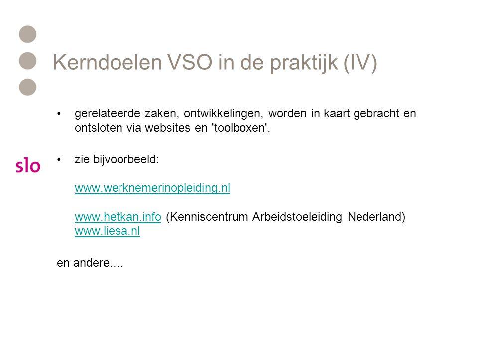 •gerelateerde zaken, ontwikkelingen, worden in kaart gebracht en ontsloten via websites en 'toolboxen'. •zie bijvoorbeeld: www.werknemerinopleiding.nl