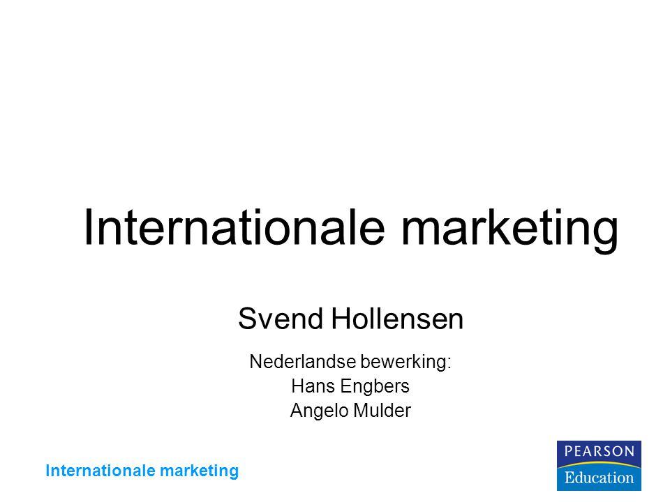 Internationale marketing Figuur 9.1 Exportmethoden