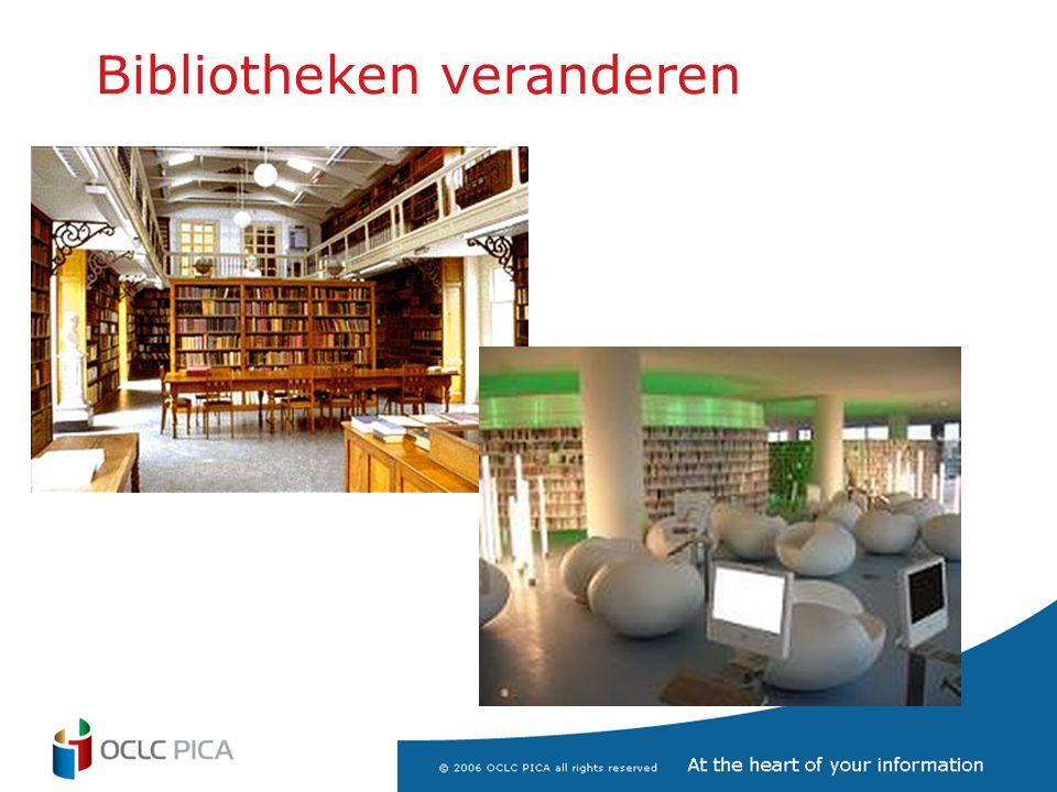 Bibliotheken veranderen