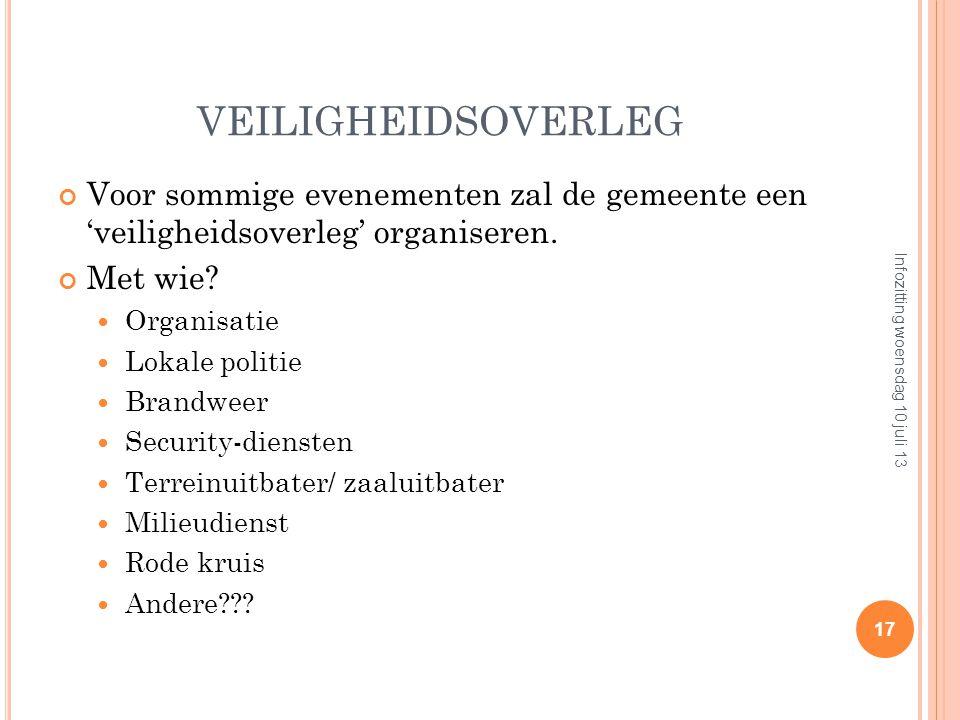 GEBRUIK EVENEMENTENFORMULIER 1 document met alle info voor organisator en hulpdiensten; Uniform document binnen de politiezone; Hoe overmaken? Op papi