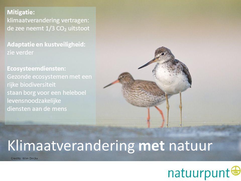 Klimaatverandering met natuur Adaptatie en kustveiligheid: biodiversiteit is geld waard Klimaatverandering met natuur uit TEEB 'the economics of biodiversity' blijkt dat investeren in natuur opbrengt.