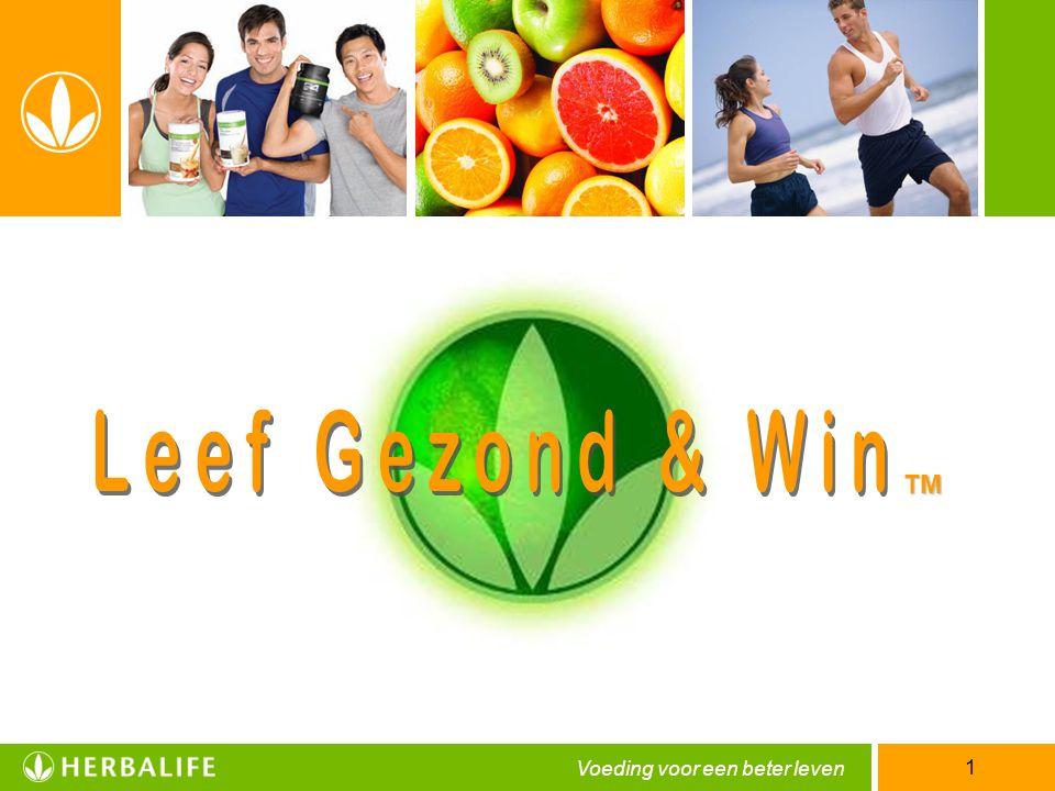 Voeding voor een beter leven 1 TM