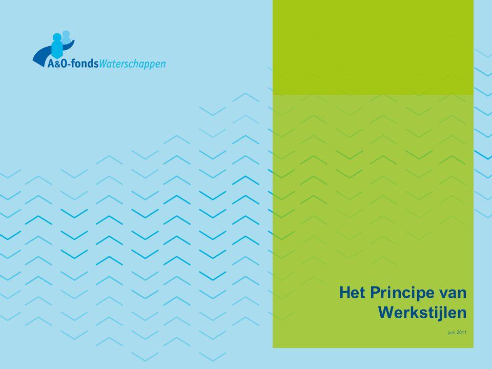Het Principe van Werkstijlen juni 2011