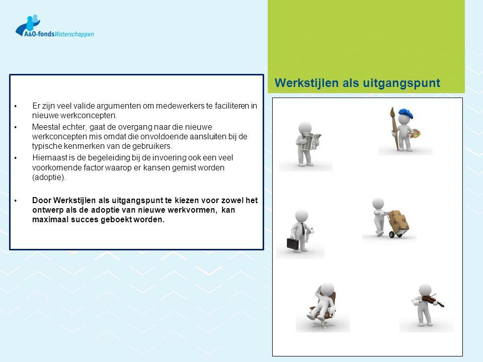 • Er zijn veel valide argumenten om medewerkers te faciliteren in nieuwe werkconcepten. • Meestal echter, gaat de overgang naar die nieuwe werkconcept