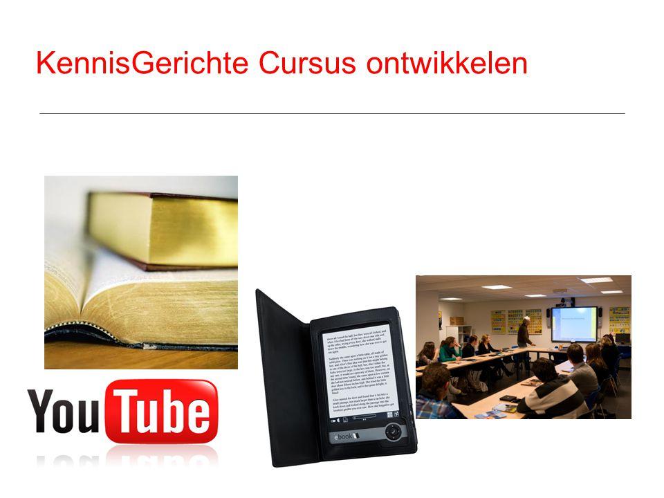 KennisGerichte Cursus ontwikkelen