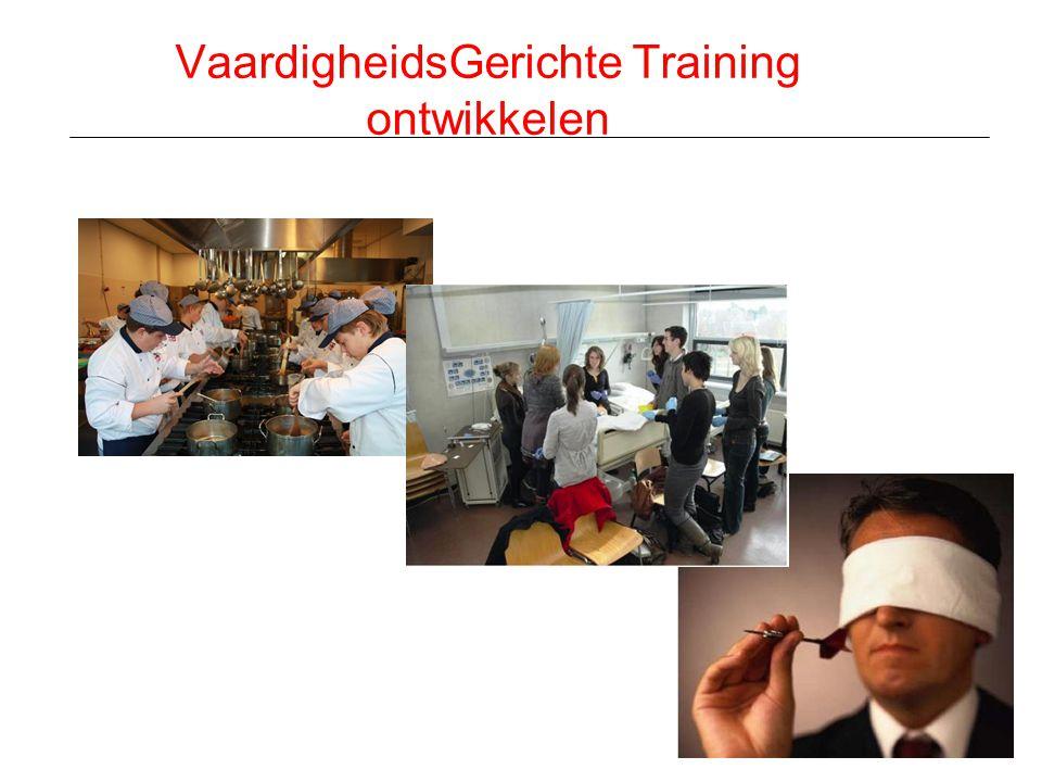 VaardigheidsGerichte Training ontwikkelen