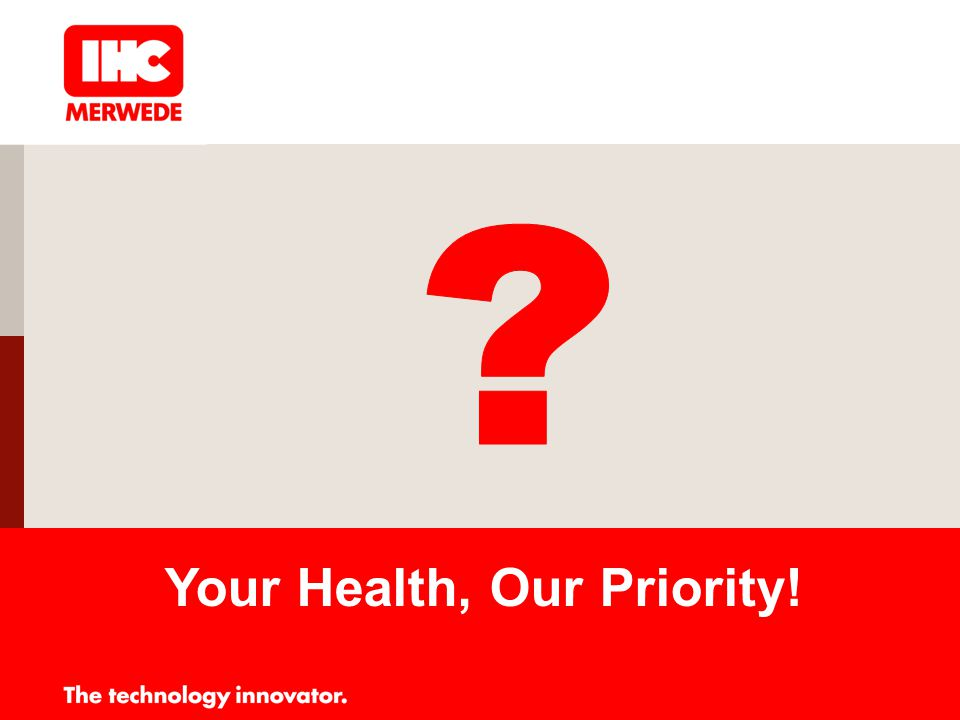 Your Health, Our Priority!