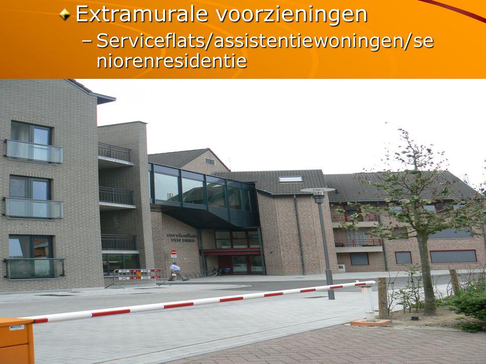 Vittel 05/10/2009 Extramurale voorzieningen –Serviceflats/assistentiewoningen/se niorenresidentie