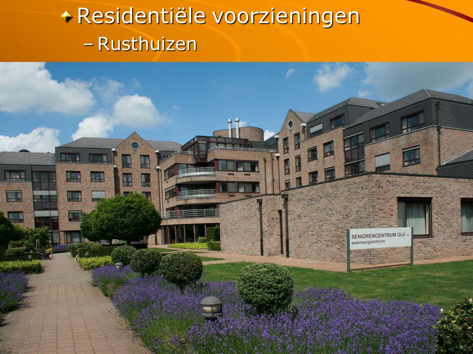 Vittel 05/10/2009 Residentiële voorzieningen –Rusthuizen