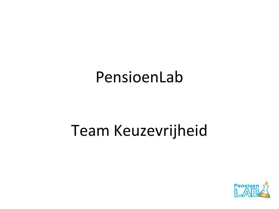 Waar we het over eens waren • Drie pijlersysteem werkt goed • Eerste pijler: volksverzekering tegen armoede • Tweede pijler: pensioen via werkgever • Derde pijler: individueel pensioen • Afwegingen: • Samen vs.