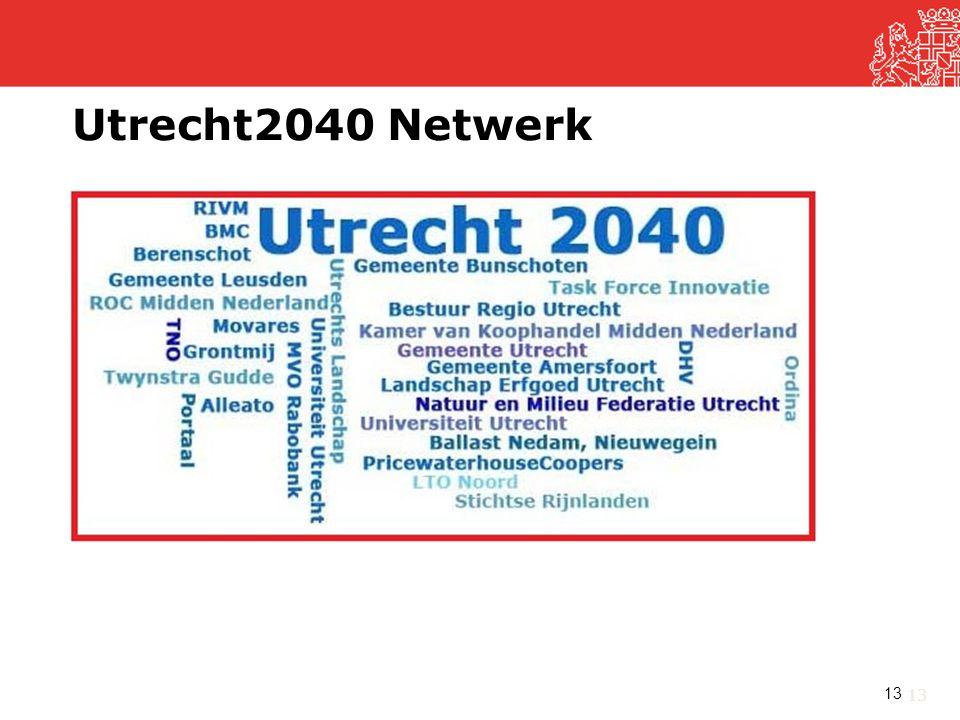 13 Utrecht2040 Netwerk