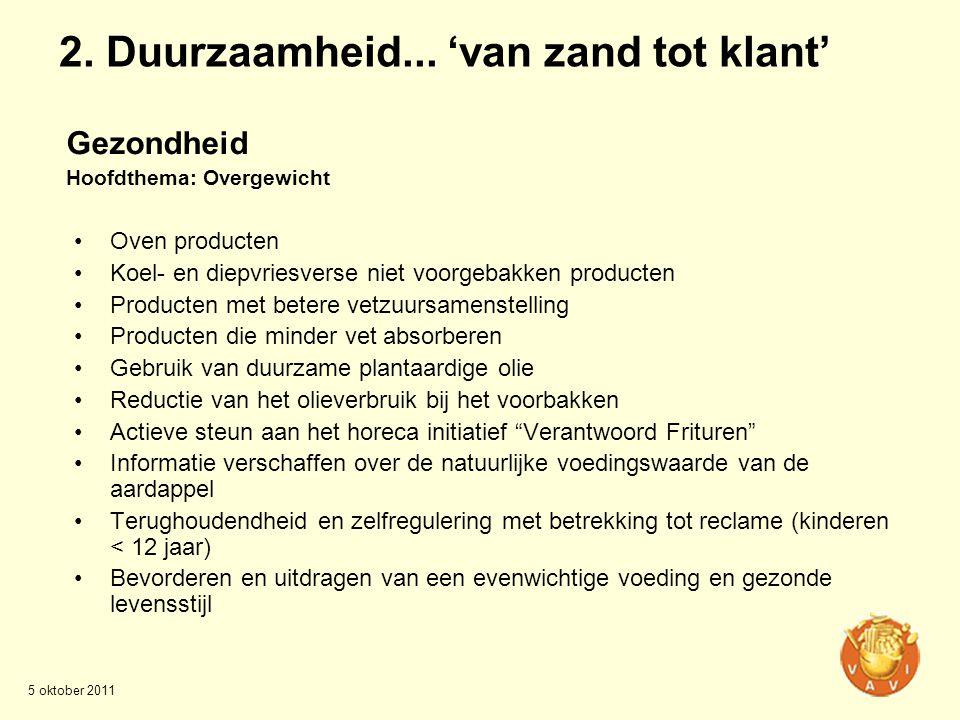 •Oven producten •Koel- en diepvriesverse niet voorgebakken producten •Producten met betere vetzuursamenstelling •Producten die minder vet absorberen •