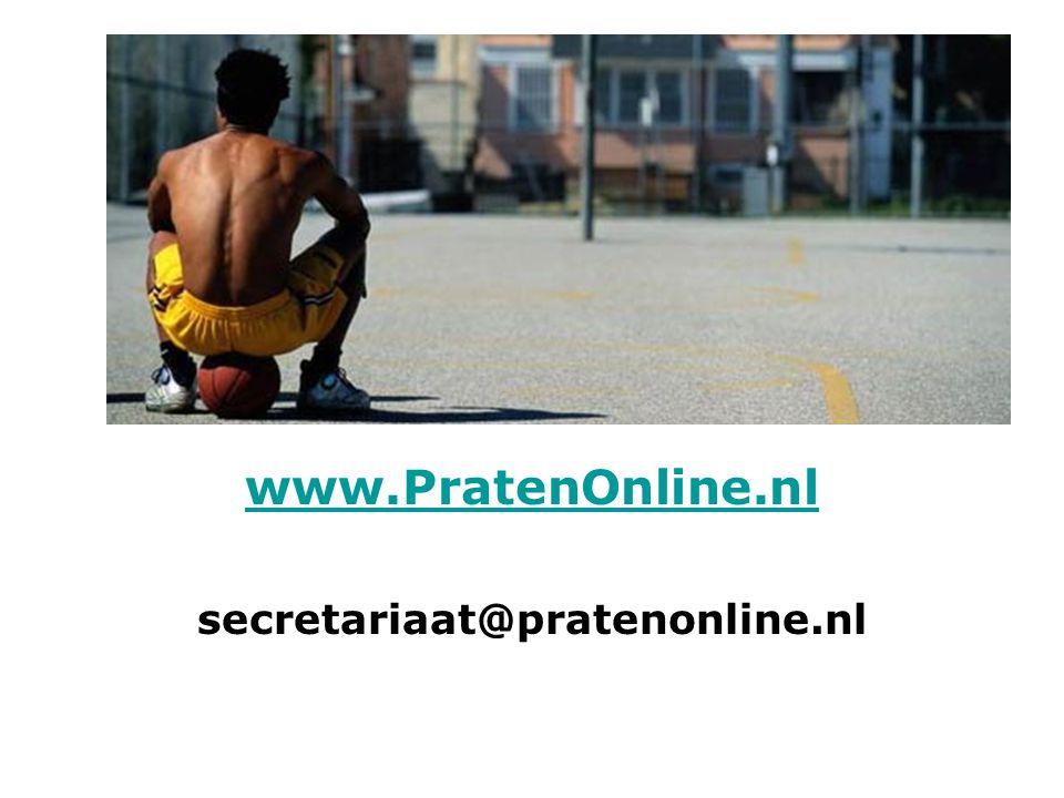 Behalve PratenOnline, wat is er nog meer aan online interventies.