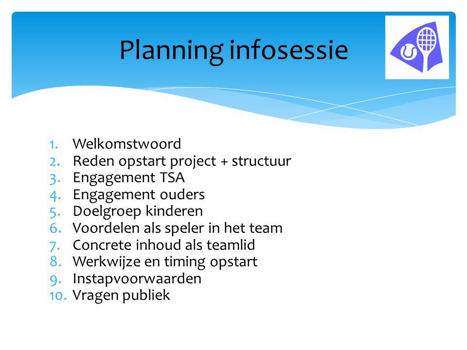  Periodeplanningen met gestructureerde werkwijze bij alle coaches.