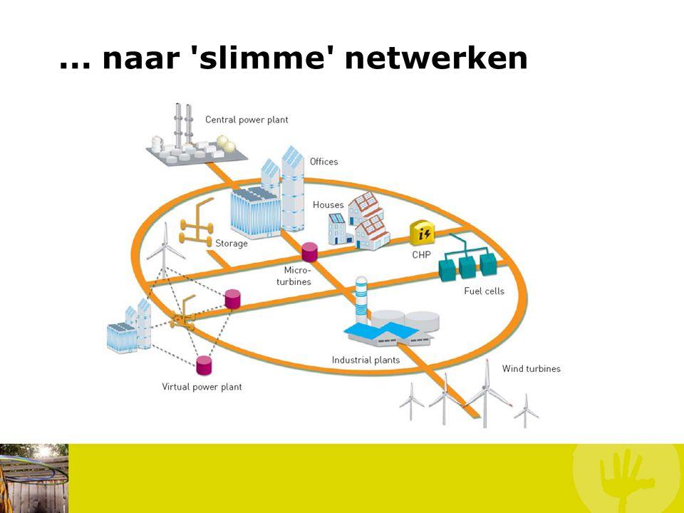 ... naar 'slimme' netwerken