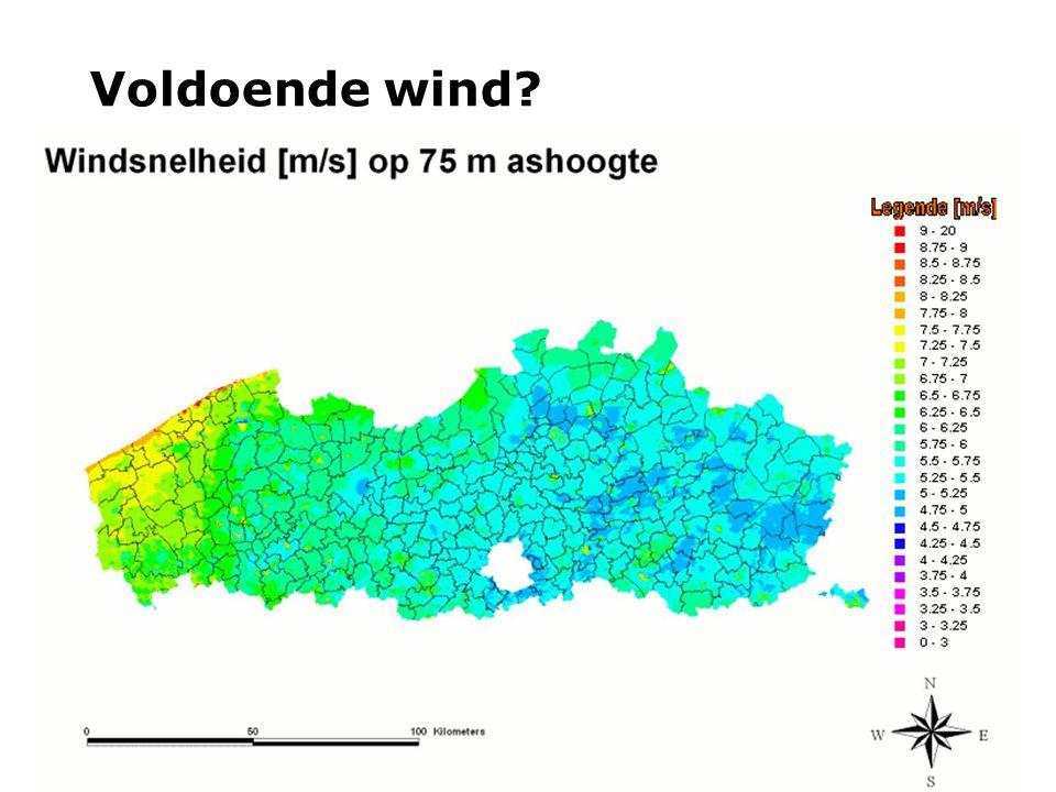 Voldoende wind?