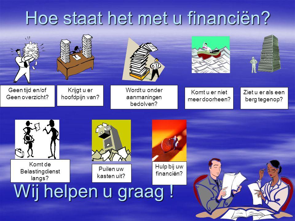 ADMINSTRATIEKANTOOR TELLEMAN Ondernemer & adviseur BelastingdienstBANKAfnemersGemeenteLeveranciersUWV U als ondernemer bent de spin in het web Uw adviseur is uw klankbord