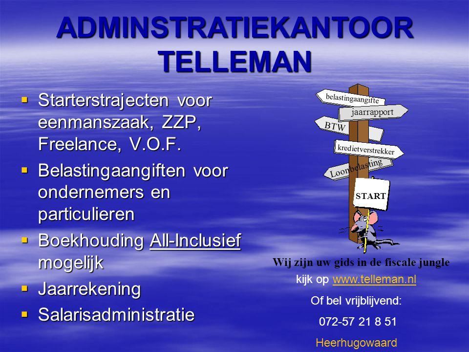  Starterstrajecten voor eenmanszaak, ZZP, Freelance, V.O.F.