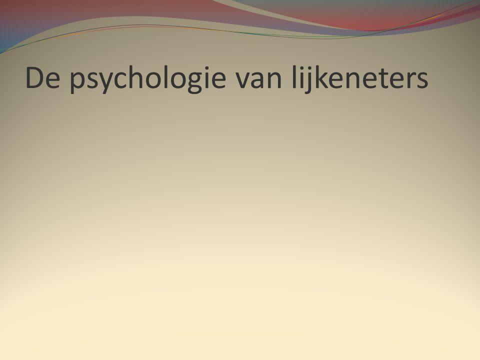 De psychologie van lijkeneters