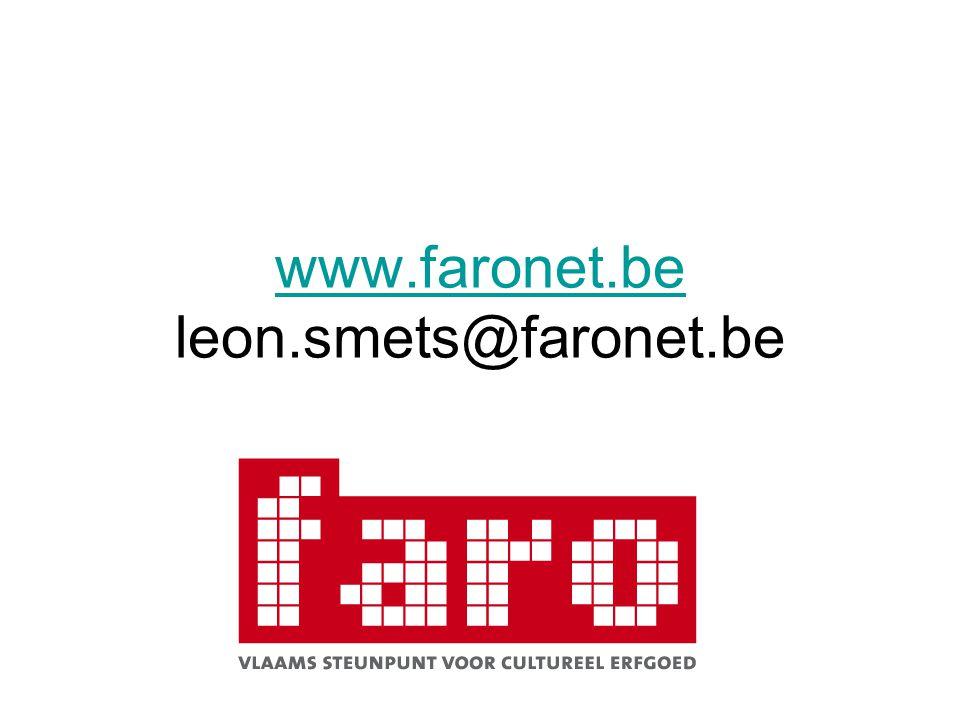 www.faronet.be www.faronet.be leon.smets@faronet.be