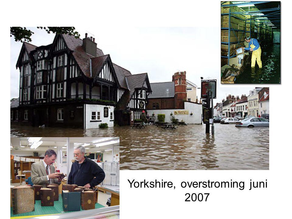 Yorkshire, overstroming juni 2007