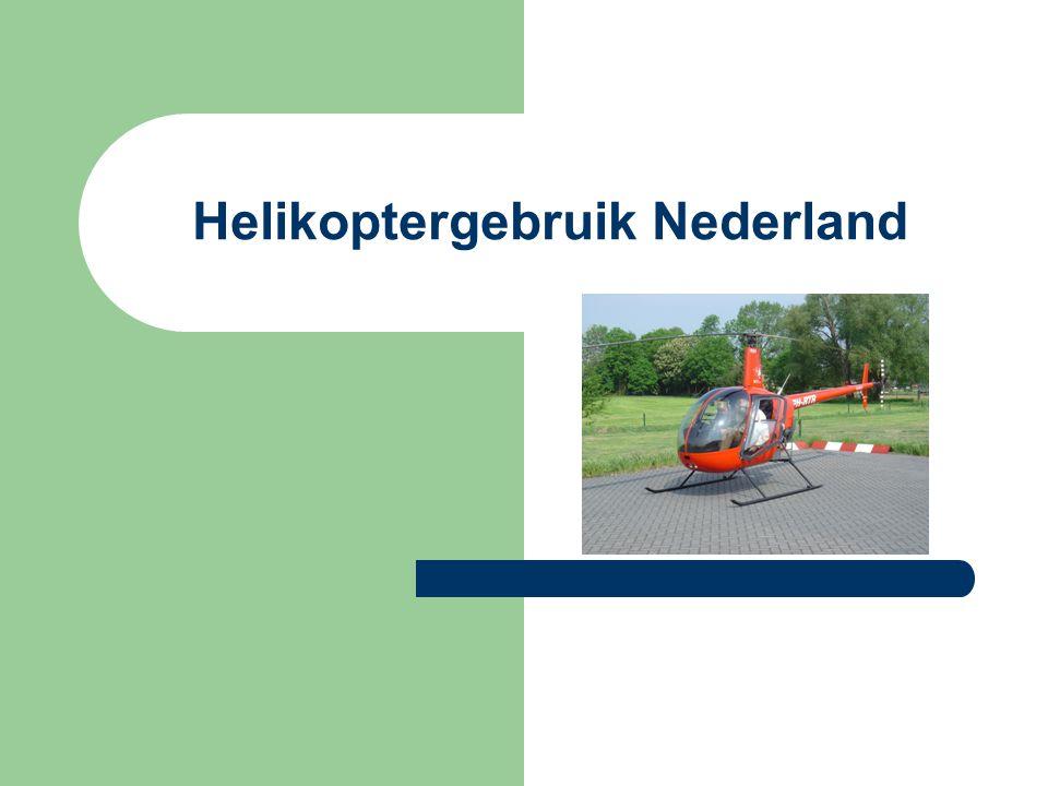 Helikoptergebruik Nederland