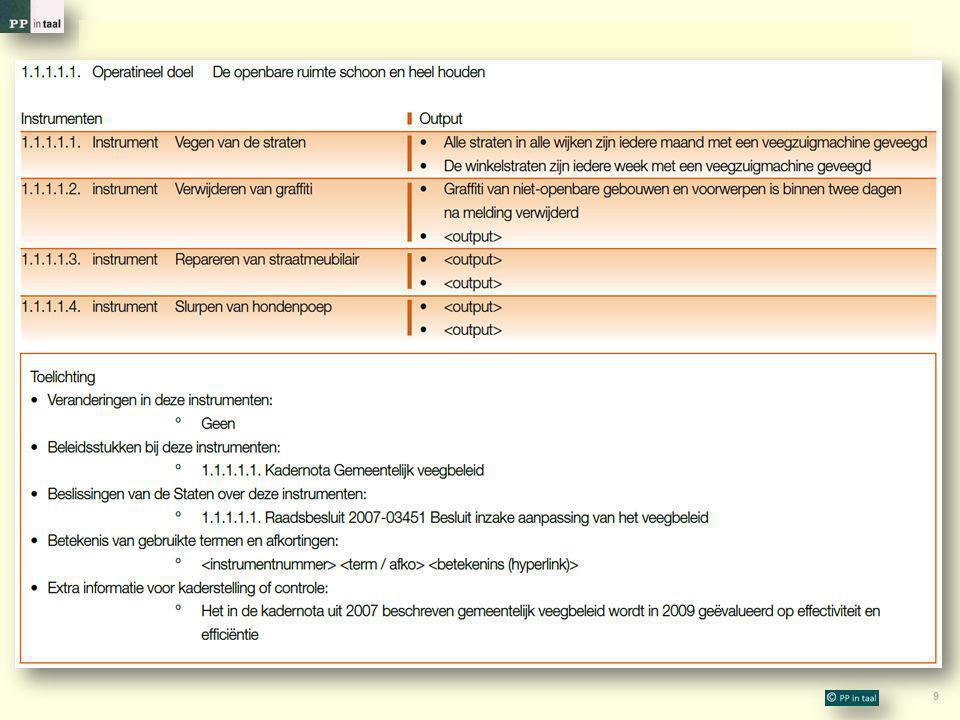 30 Bedankt voor uw aandacht en uw inbreng  Op uw webpagina kunt u dit college herbeleven: http://www.ppintaal.nl/webservice/UU http://www.ppintaal.nl/webservice/UU