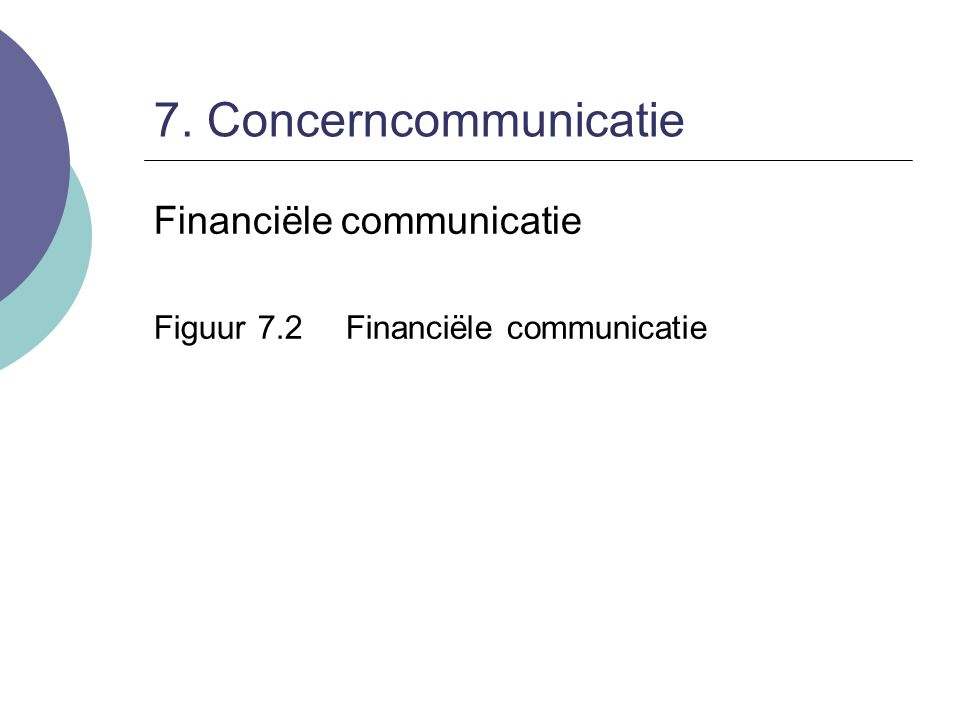 8. Marketingcommunicatie Direct marketing:  Direct mail  Telefonische verkoop  E-mail of SMS