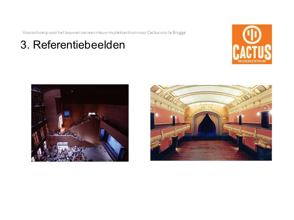 Voorontwerp voor het bouwen van een nieuw muziekcentrum voor Cactus vzw te Brugge 3.