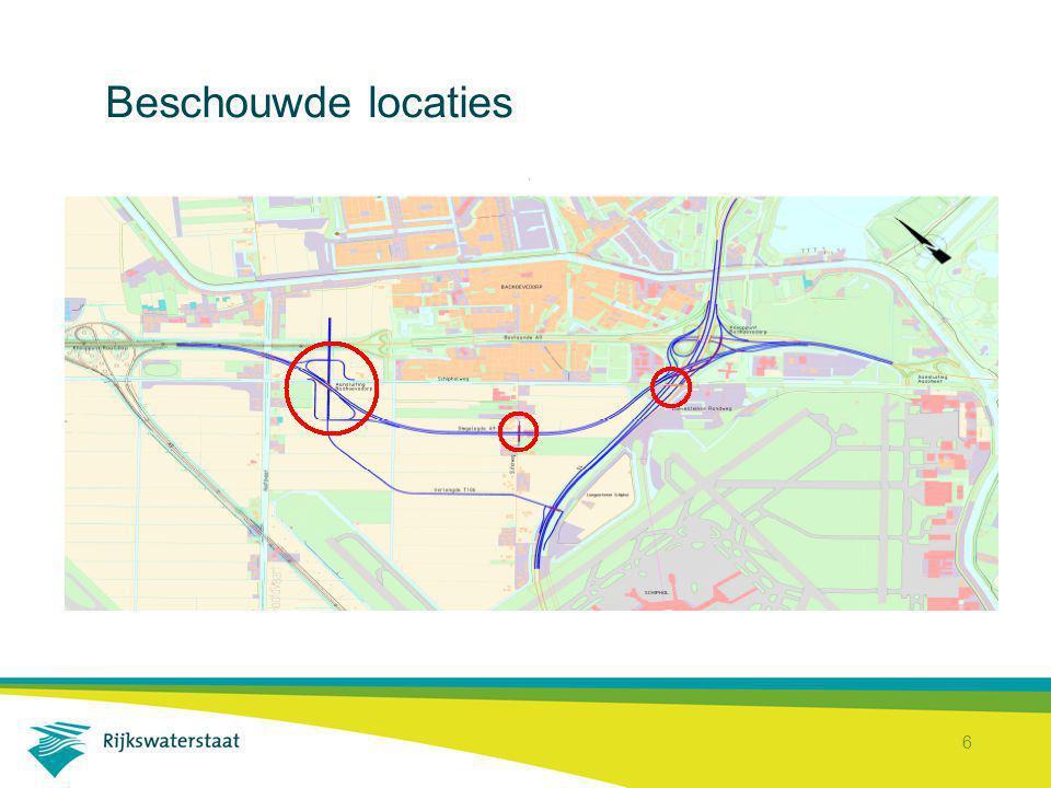 7 Ingebrachte ideeën Gericht op 2 invalshoeken: OWN: oplossingen voor de ontsluitings-structuur van Badhoevedorp via Schipholweg Varianten voor aansluiting Badhoevedorp (A9 - S106/T106)