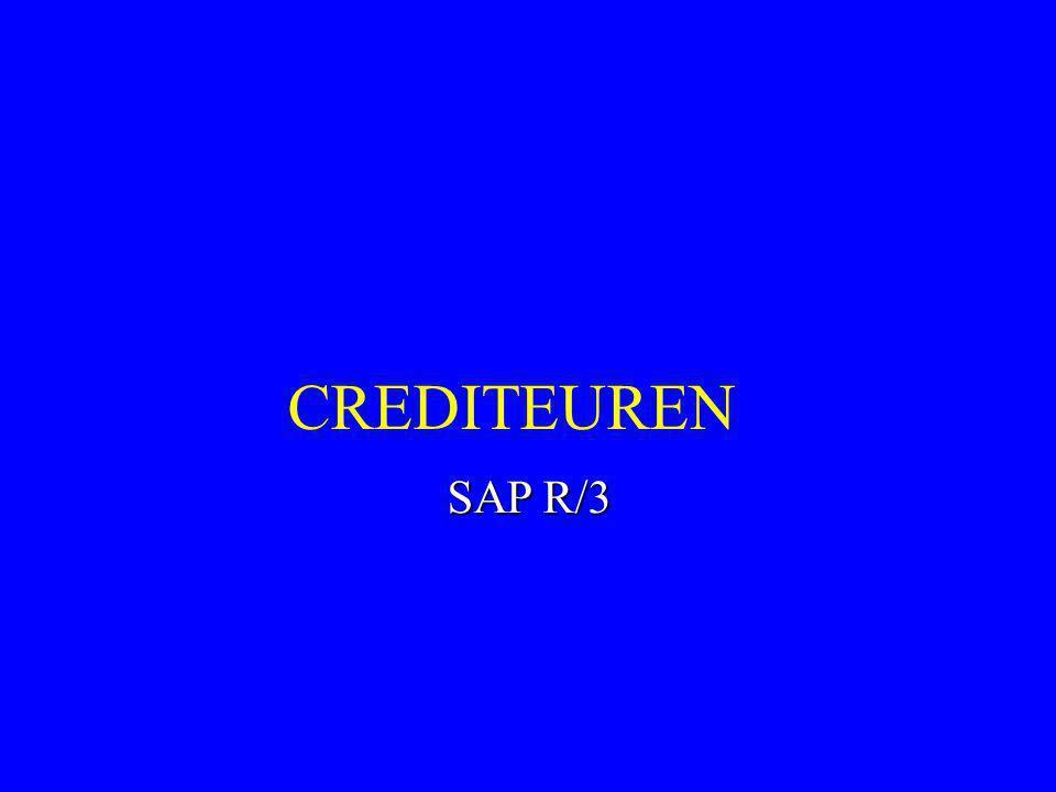 CREDITEUREN SAP R/3