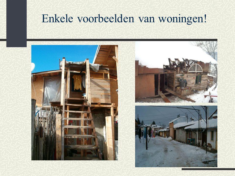 Enkele voorbeelden van woningen!