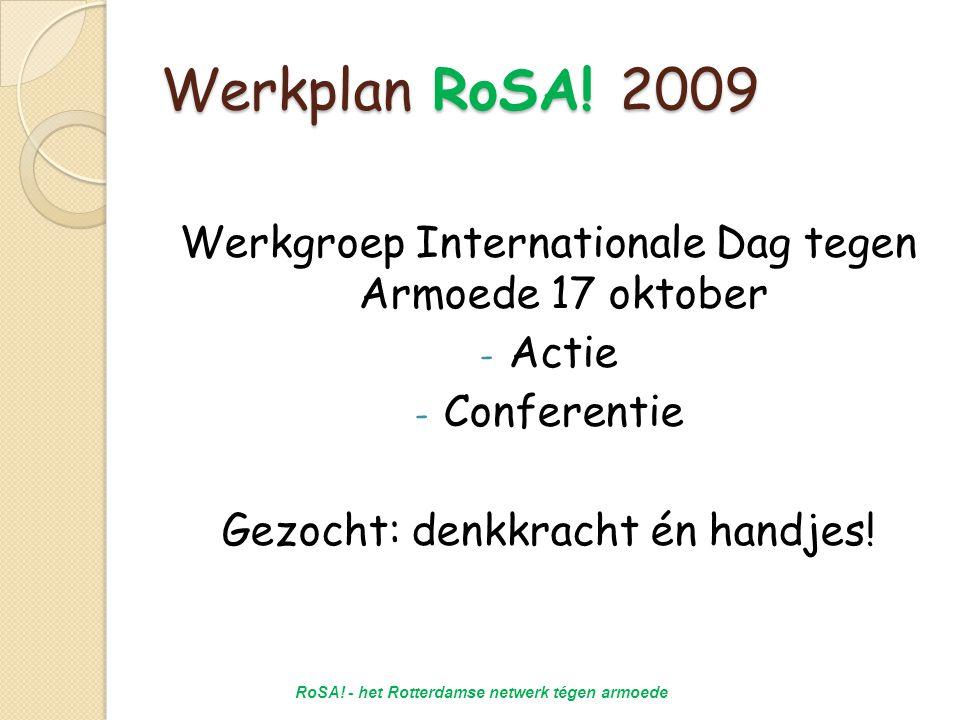 Werkplan RoSA.