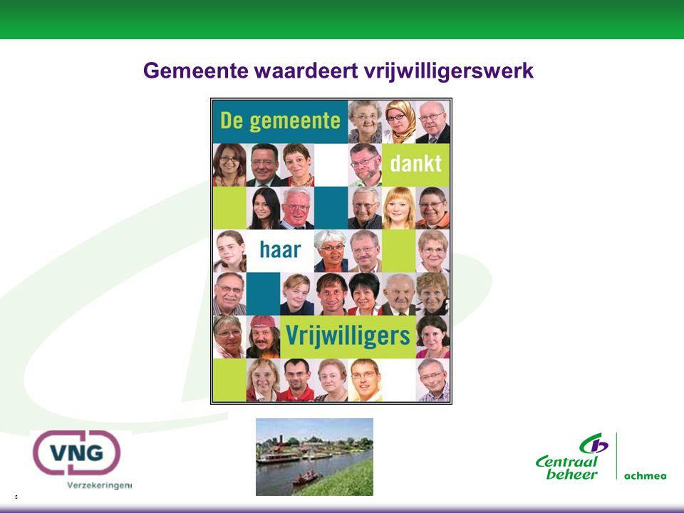 6 Gemeente heeft zorgplicht Informatiebijeenkomst over vrijwilligersverzekering
