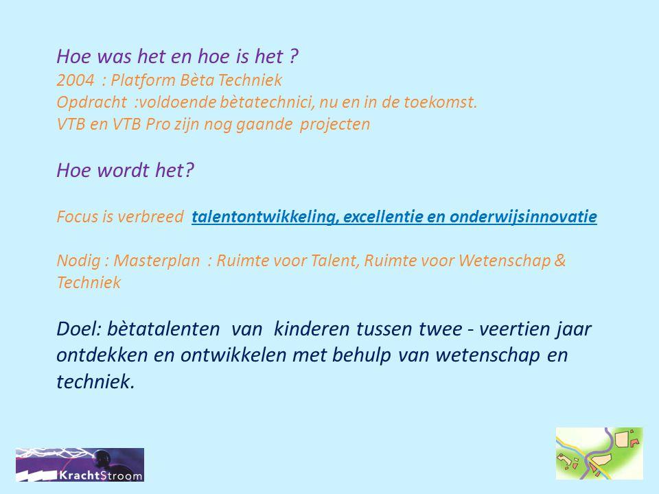 Techniek Promotie Noord-Brabant Tune Techniek (TC Index) (Breda eo) PPT Midden Brabant (Tilburg) Technific (Eindhoven e.o.) Techniek=Troef 3 deelregio's Den Bosch TechXperience Gesubsidieerd door: