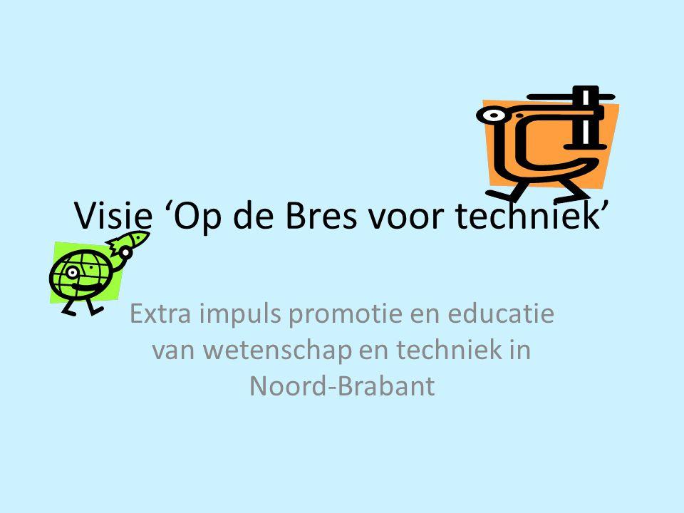 Visie 'Op de Bres voor techniek' Extra impuls promotie en educatie van wetenschap en techniek in Noord-Brabant