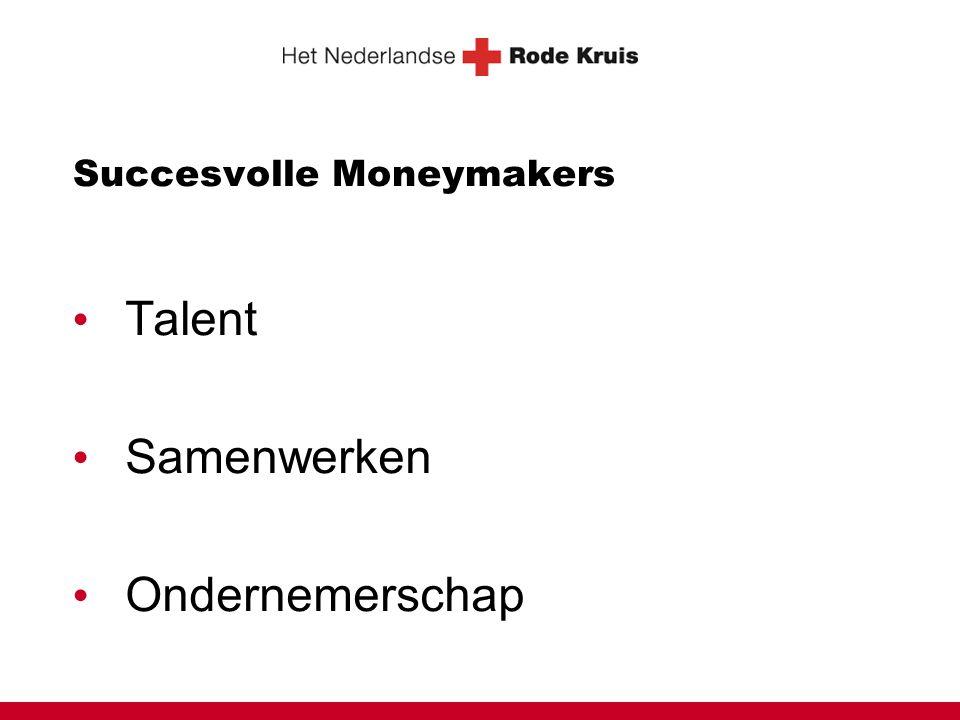 Succesvolle Moneymakers • Talent • Samenwerken • Ondernemerschap