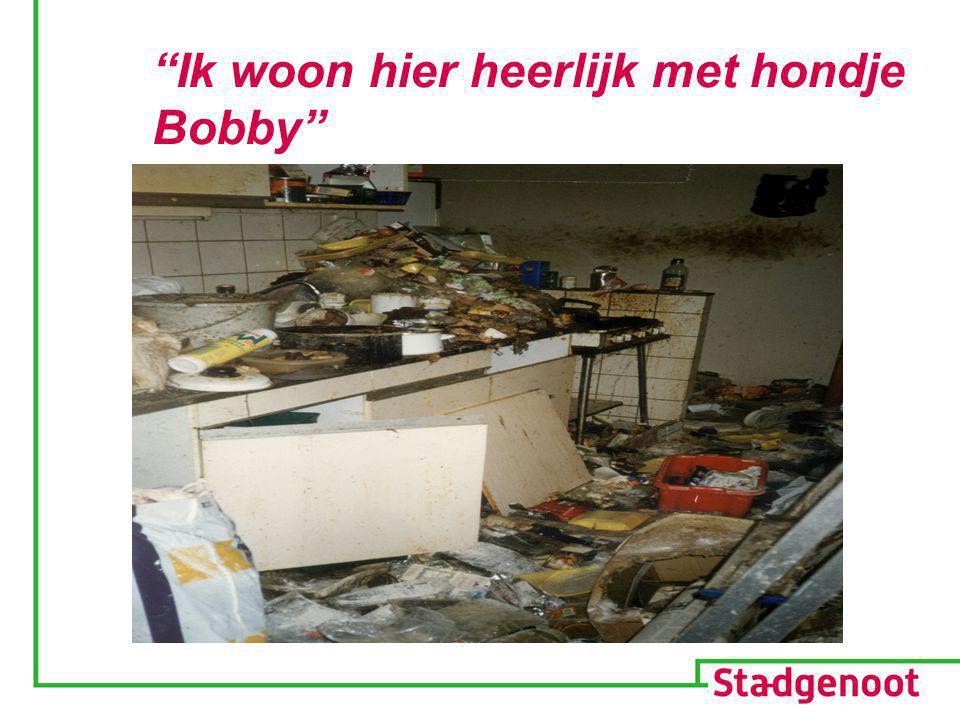 """""""Ik woon hier heerlijk met hondje Bobby"""""""