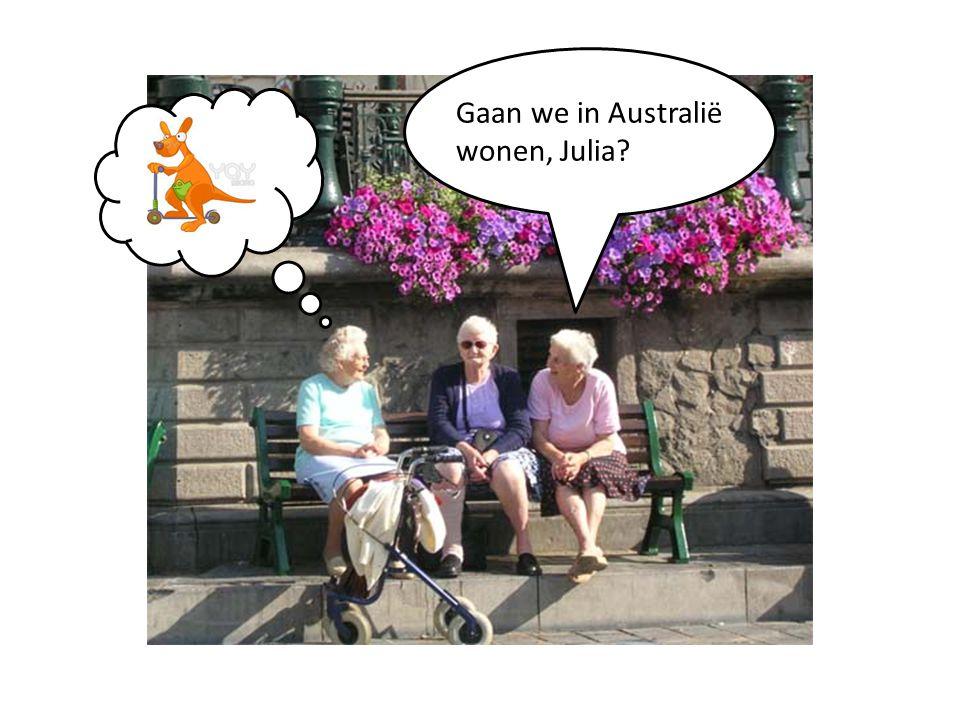 Gaan we in Australië wonen, Julia