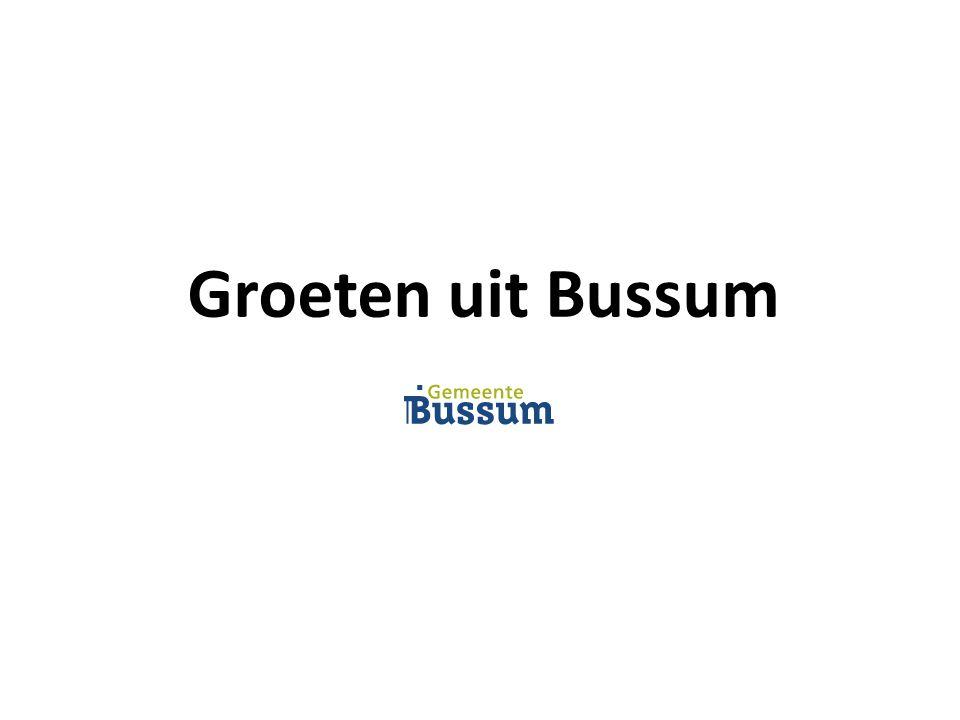 Groeten uit Bussum