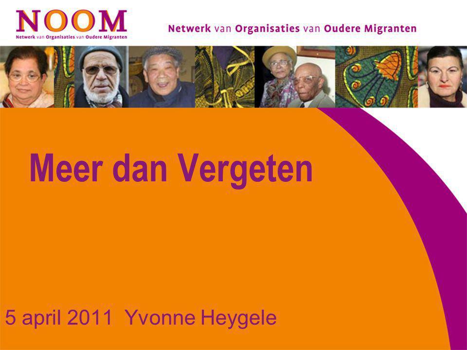 NOOM Netwerk van Organisaties van Oudere Migranten