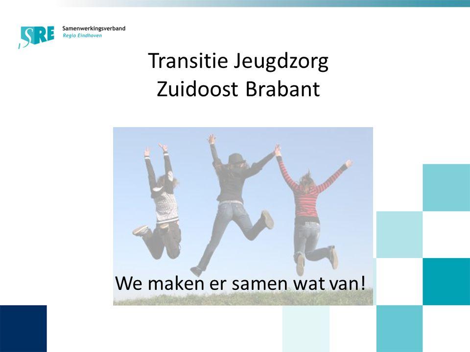 Transitie Jeugdzorg Zuidoost Brabant We maken er samen wat van!