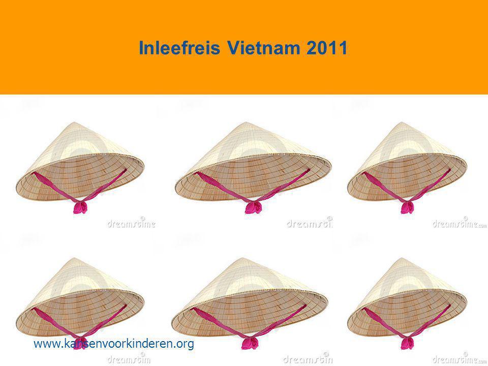 Inleefreis Vietnam 2011 www.kansenvoorkinderen.org