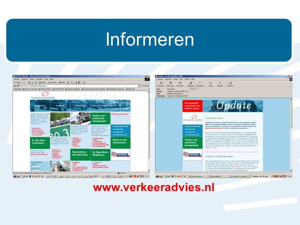 Informeren www.verkeeradvies.nl