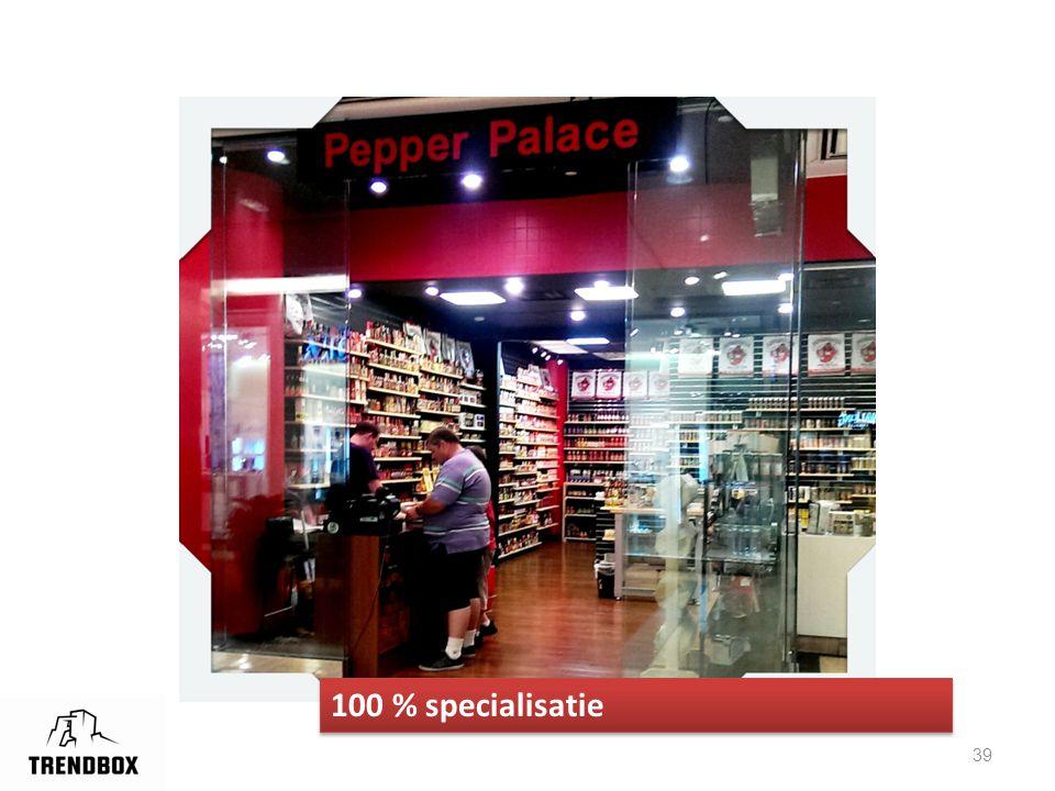 39 100 % specialisatie